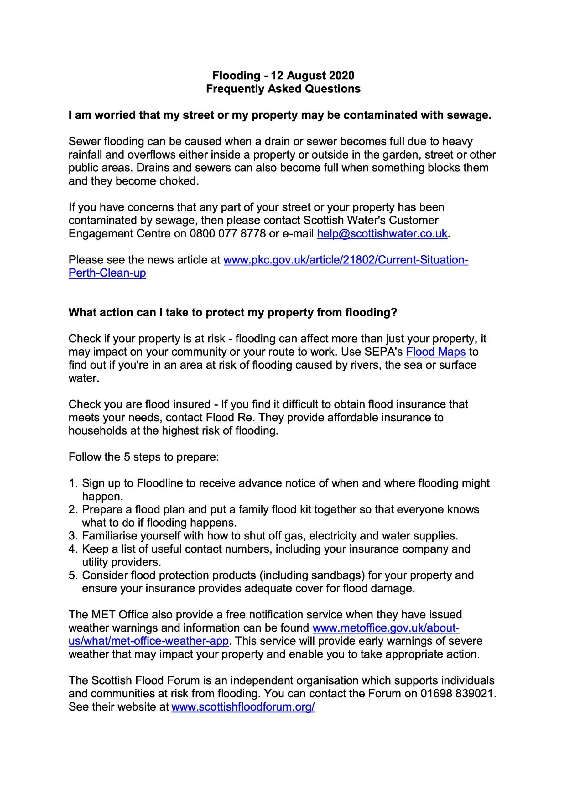 Flooding FAQ's 260820 00001